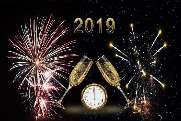 Happy New Year 2019 2020 Der Seehof Schwammenauel